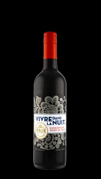vivre dans la nuit red wine italy arista wines